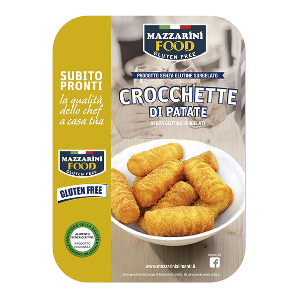 CROCCHETTE DI PATATE PANATE