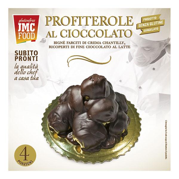 TORTA PROFITEROLE AL CIOCCOLATO