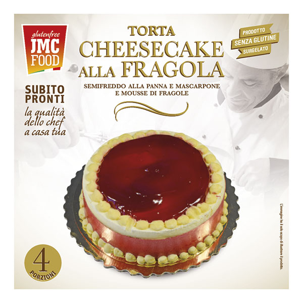 TORTA CHEESECAKE ALLA FRAGOLA